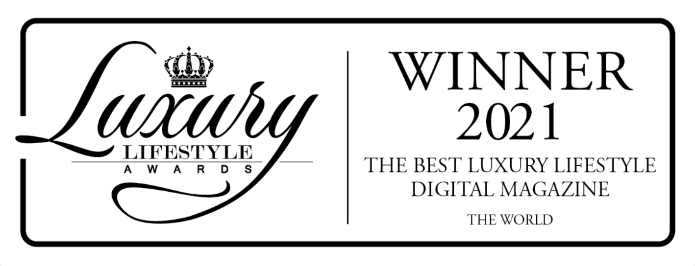 LUXURIA LIFESTYLE INTERNATIONAL WINS THE WORLD'S BEST LUXURY DIGITAL MAGAZINE AWARD FOR THE SECOND YEAR IN A ROW